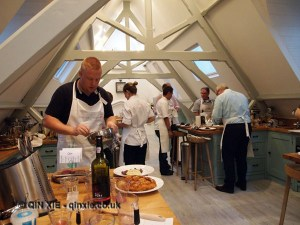In the kitchen, Monica Galetti Experience, Cactus Kitchen