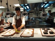 Service at the pass, Mugaritz, Errenteria