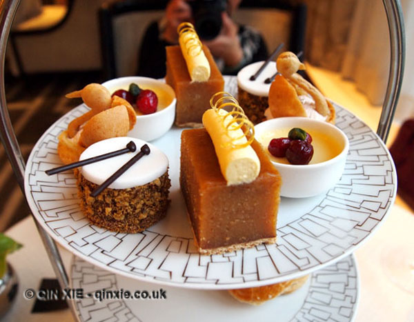 Afternoon Tea at Wellington Lounge, InterContinental Park Lane Hotel, Review