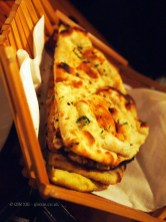 Selection of tandoori breads, NYE 2013, Cinnamon Kitchen