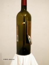 Wine bottle art, Château de l'Hospitalet, Narbonne