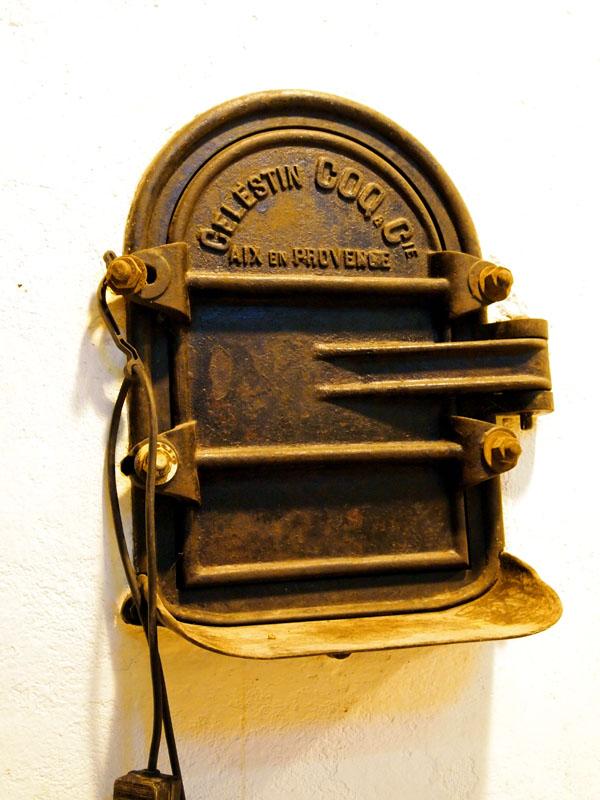 Fermentation tank door, Riberach, Belesta
