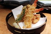 Prawn tempura, The Matsuri, St James