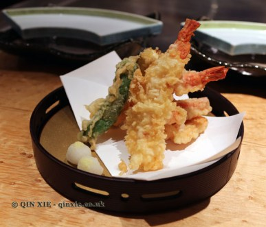 Prawn tempura, The Matsuri, St James