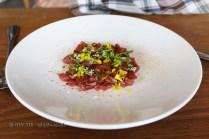 Raw Highland Beef & Cured Sea Urchin, Lyle's, London