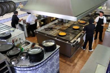 Kitchen, La Pepica, Valencia