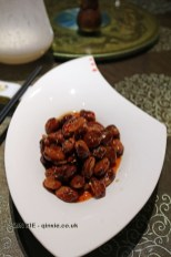 Spicy broad beans, Vegan Restaurant, Chengdu
