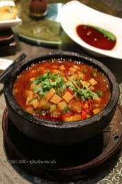 Spicy tofu, Vegan Restaurant, Chengdu