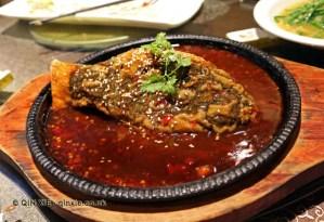 "Tofu and seaweed ""fish"", Vegan Restaurant, Chengdu"