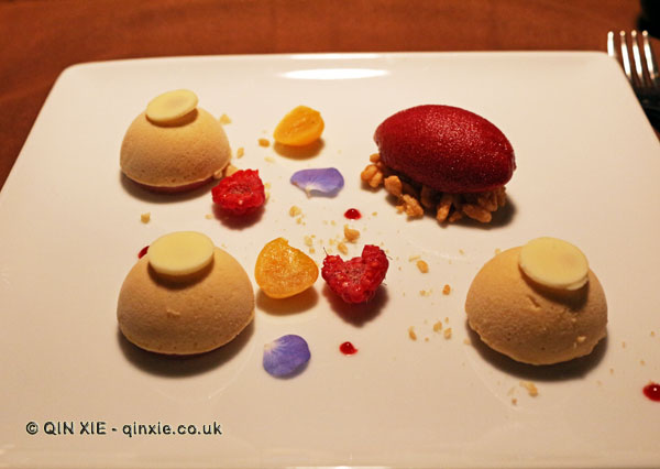 Ice cream and sorbets, Table No 1 by Jason Atherton, Shanghai