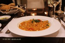 Seafood risotto, Dolce Vita, Sofitel Legend People' Grand, Xian, China