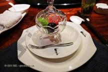 Appetiser fruits, Kuan Alley No 3, Chengdu, China