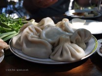 Khinkali dumplings in Georgia
