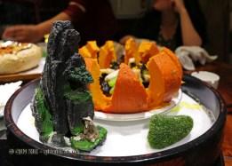 Luck and longevity pumpkin, Kuan Alley No 3, Chengdu, China