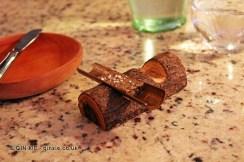 Mushroom butter, Restaurante 99, Santiago