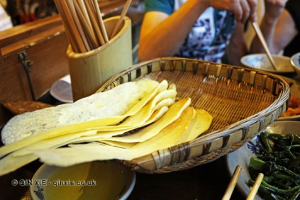 Pan bread, Ren Ming Shi Tang (People's Public Restaurant), Chengdu, China