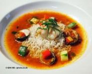 Rice and clams at APEDA basmati rice conference