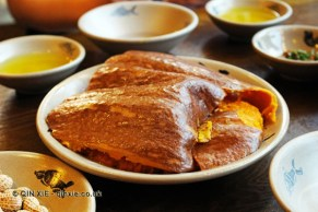 Steamed pumpkin, Ren Ming Shi Tang (People's Public Restaurant), Chengdu, China