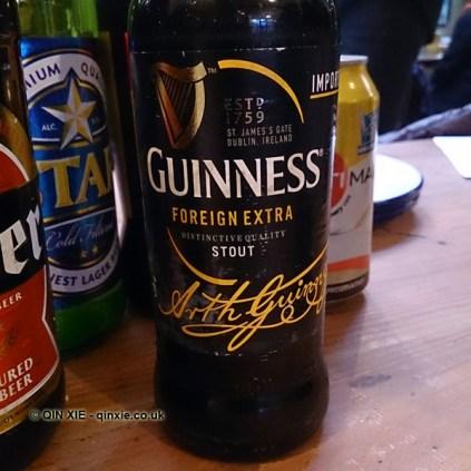 Nigerian Guinness, Zoe's Ghana Kitchen, The King & Co