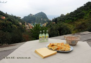 Picnic with a view, Niasca Portofino
