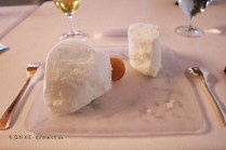 Xaxu and coconut iced mousse at Pedro Subijana Akelarre, San Sebastian