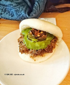 Lamb's shoulder bun, Bao, London
