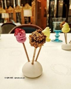 Lollipops at Celeste Restaurant, The Lanesborough, Knightsbridge