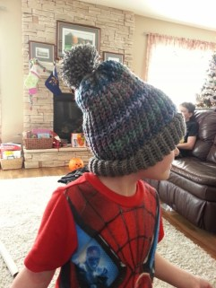 hat I knitted