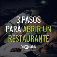 3 Pasos para Abrir un Restaurante