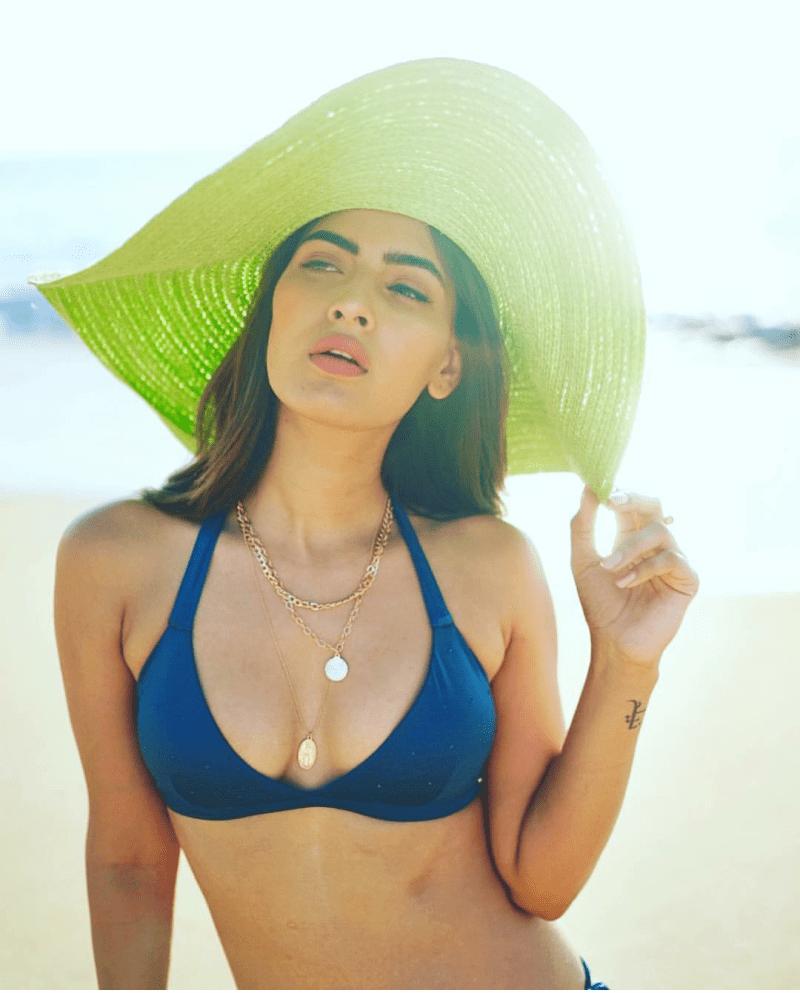 Karishma Sharma New bikini photoshoot on beach 1