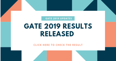 GATE 2019 result: According to the official release the result is declared on March 15, 2019. Candidates who appeared for the exam can check their result at