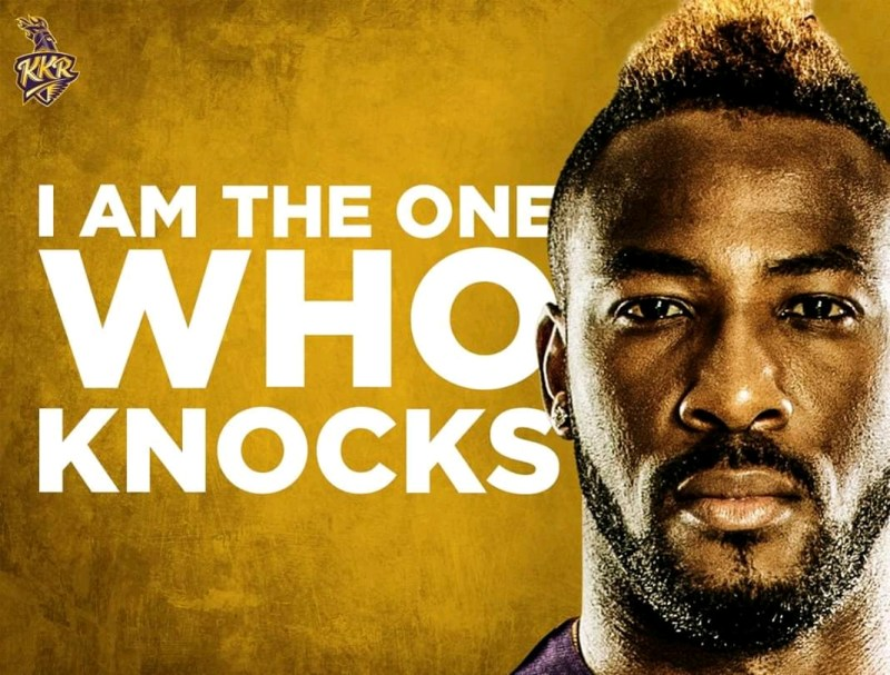 I am the one who knocks knight Andre Russell
