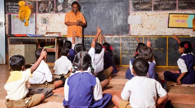 indian school kids goverment