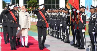Modi has been conferred with the Maldives' highest honour