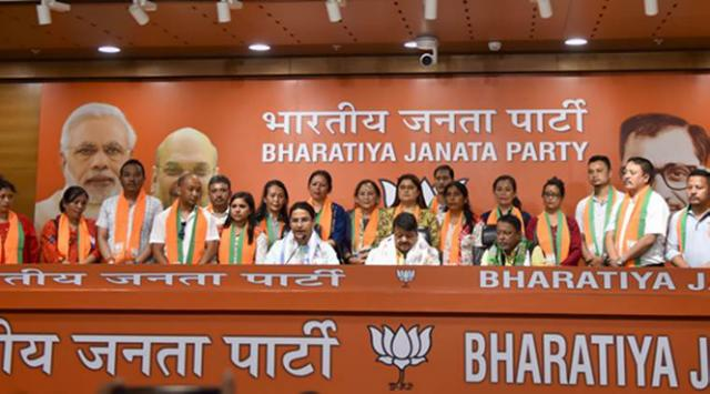 Seventeen Councillors of the Darjeeling municipality joined the BJP