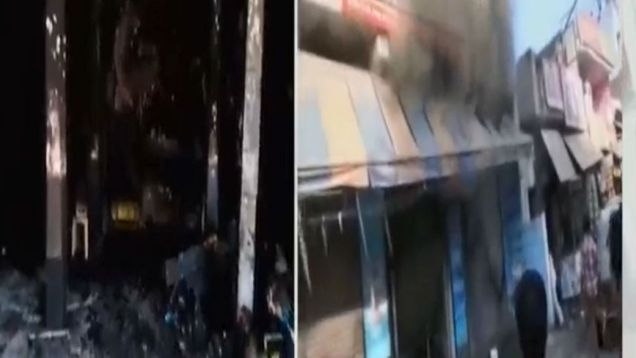Along with 2 kids 3 people died in Faridabad School Fire