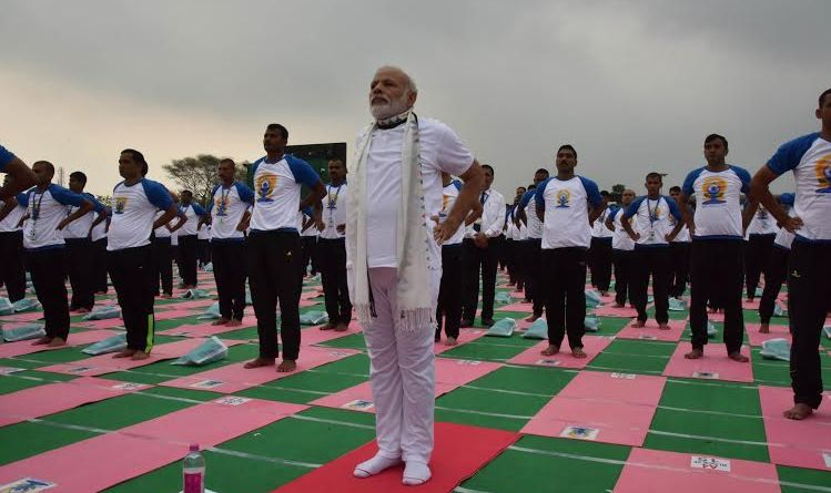 Narendra Modi will lead a Yoga class in Ranchi