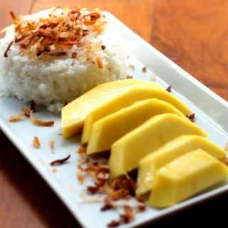What's With All The Roses? (and mango with sticky rice)