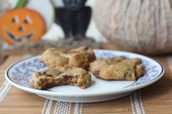 Chewy Pumpkin Chocolate Cookies