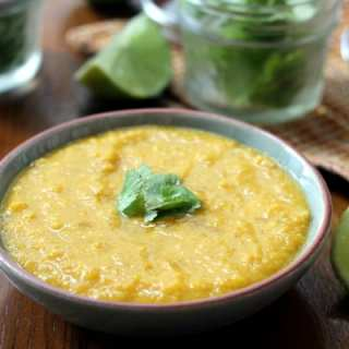 Curried Squash and Corn Soup