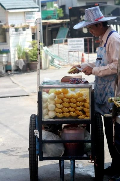 Bangkok Fruit Cart