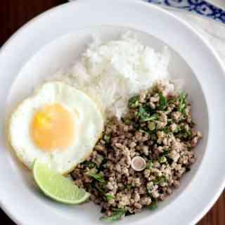Frank's Laab Moo (Thai Salad with Pork, Herbs, and Lime)