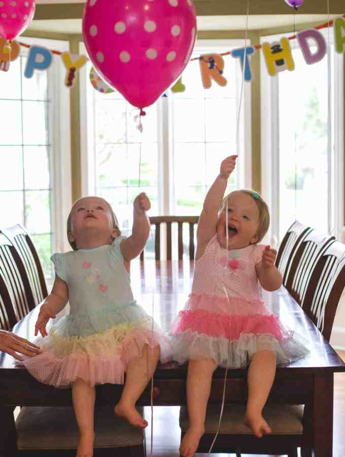 Molly and Clara – Two Years