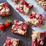 Strawberry Oat Streusel Bars