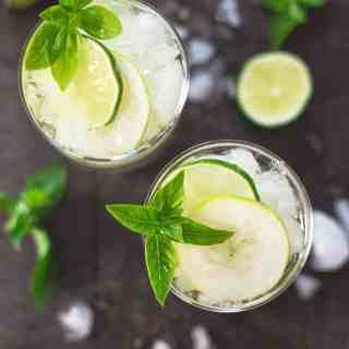 Pear and Lime Sangria