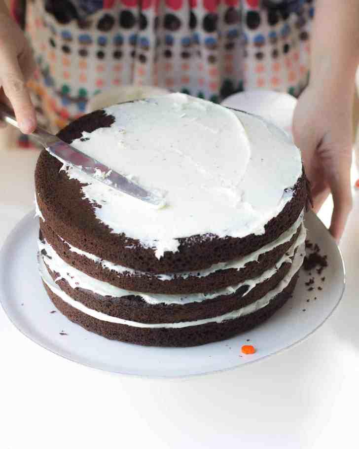 Halloween Pinata Cake