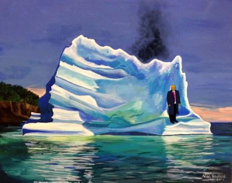 trump iceberg