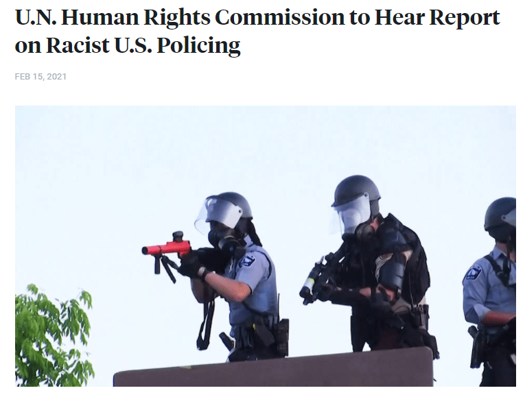 """""""Democracy Now"""" highlights the International Commission of Inquiry"""