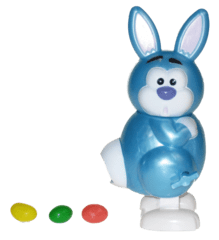 Funny Bunny in blue for boys