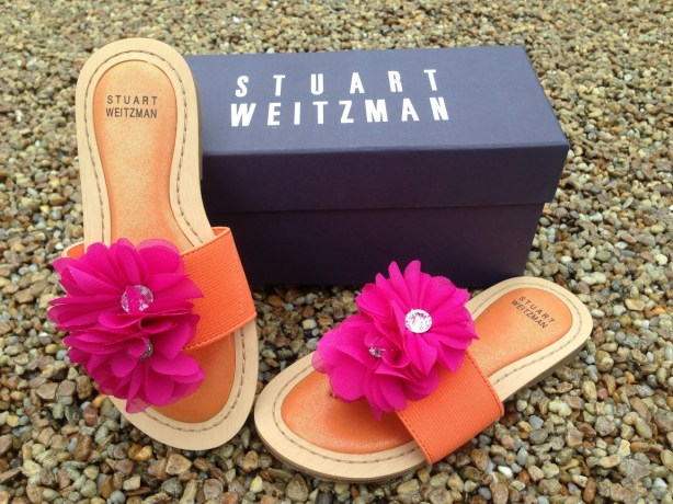 rose water sandals